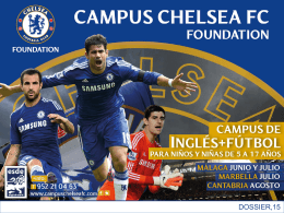 Dossier  - Campus Chelsea FC Foundation