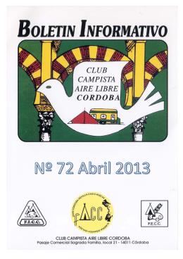 """acampada """"el porvenir"""" - Club Campista Aire Libre Córdoba"""
