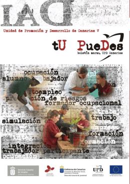 boletín marzo, UPD Canarias