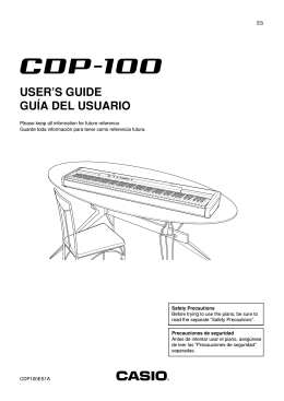 CDP100 - Support