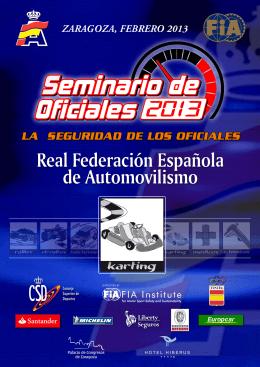 Karting  - Real Federación Española de Automovilismo