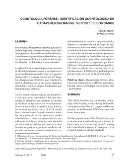 Odontologia forense identificacion odontologica de cadaveres
