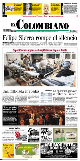 EL COLOMBIANO SEPTIEMBRE 19 DE 2010