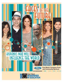Hispanics Who Will Influence the World