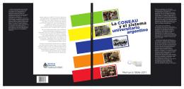 La CONEAU y el sistema universitario argentino