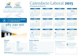calendario nuevo formato 2015