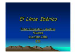 El Lince Ibérico - Educastur Hospedaje Web