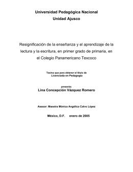 caratula e indice - Biblioteca Gregorio Torres Quintero Universidad