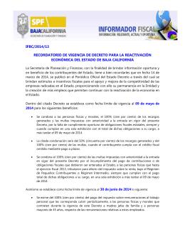 2014-013 - Gobierno del Estado de Baja California