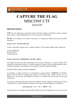CAPTURE THE FLAG MISCONF CTF