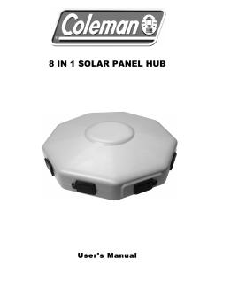 8 IN 1 SOLAR PANEL HUB