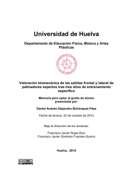 tesis doctoral - Universidad de Huelva