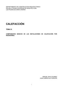 Calefaccion Tema 4 - Editorial de Construcción