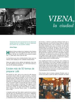 Viena, la ciudad de las Casas de Café