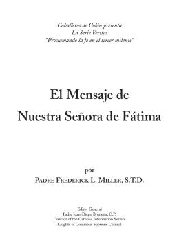 El Mensaje de Nuestra Señora de Fátima