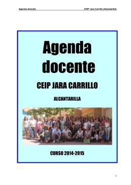 CEIP JARA CARRILLO - Educación Infantil