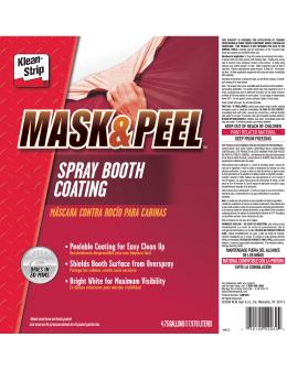máscara contra rocío para cabinas spray booth coating