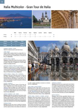 Italia Multicolor - Gran Tour de Italia