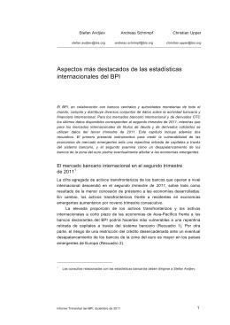 Informe Trimestral del BPI