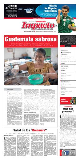 Guatemala sabrosa