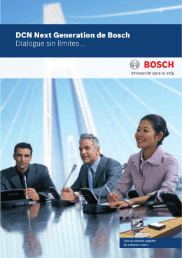DCN Next Generation - Bosch Security Systems