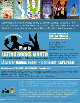 May is Latino Books Month 2016 flyer.pages