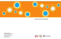 Guía para Ferias de Empleo - Ministerio de Trabajo y Previsión Social
