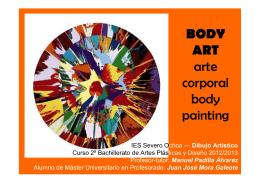 BODY ART arte corporal body i ti painting