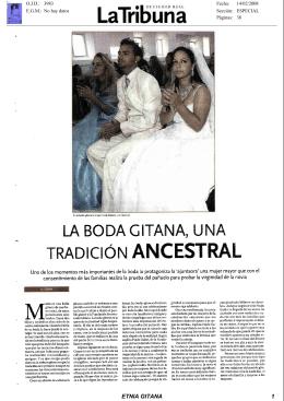 La boda gitana, una tradición ancestral