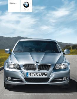 Descargue el catálogo del BMW Serie 3 Sedán