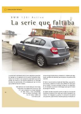 BMW 120i Active - CESVI Argentina