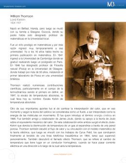 William Thomson Lord Kelvin
