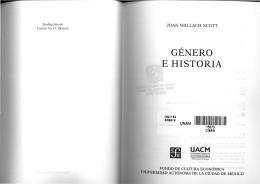 Scott, Género e historia (parte I)