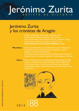 Revista de Historia Jerónimo Zurita, 88 (2013)