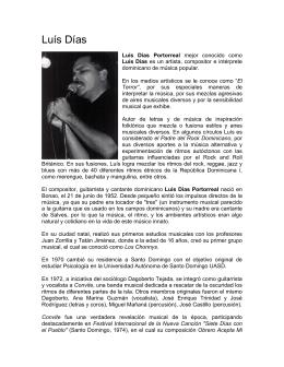 Biografia Luis Dias