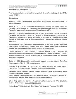 REFERENCIAS DE CONSULTA Toda la documentación se consultó