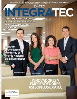 Edición 104 Mayo - Junio 2014. - EXATEC
