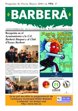 BARBERA 216 - Ajuntament de Barberà del Vallès