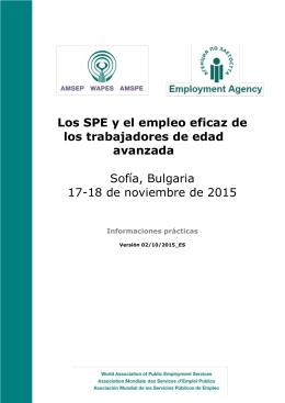 Los SPE y el empleo eficaz de los trabajadores de edad