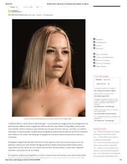 Retrato íntimo del porno: 25 estrellas para adultos al natural