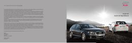 Catálogo del Audi A3