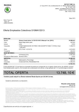 SK OCTAVIA COMBI 1.6 105CV