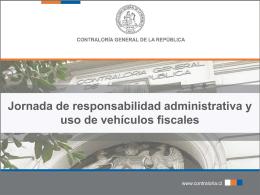 responsabilidad administrativa - Contraloría General de la República