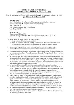 Actas_29_mayo_2014[1] - Urbanizacion Caballo Blanco y El Gato