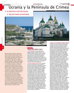 Ucrania y la Península de Crimea
