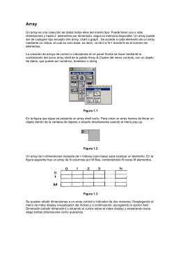labview uso de array y string