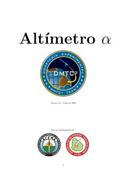 Altímetro alfa Versión 4.0 - Hacker, Cingolani y Asociados