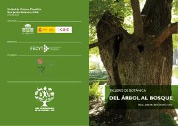DEL ÁRBOL AL BOSQUE - Real Jardín Botánico