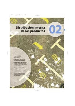 2. Distribución interna de los productos