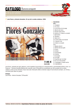7.95 € - Flamenco Export